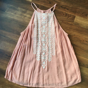 Abercrombie and Fitch Strappy Pink Tank